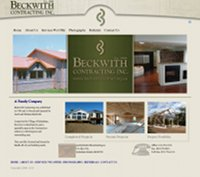 Beckwith Contracting Redesign