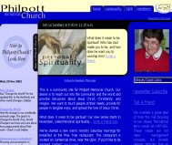 Philpott Church Rebranding, 2003
