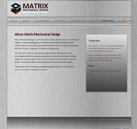Matrix Mechanical Design Web Site