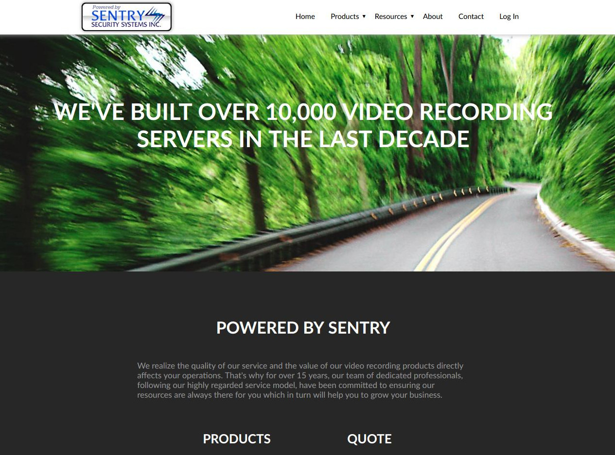 Sentry Security Systems Incorporated: PoweredBySentry.ca - CMS, Lens and Bandwidth Calculators, etc